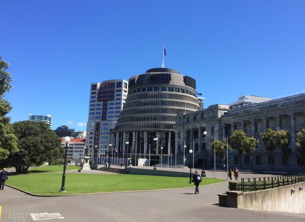 The Beehive Wellington New Zealand